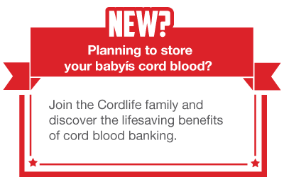 Join the Cordlife family and discover the lifesaving benefits of cord blood banking.